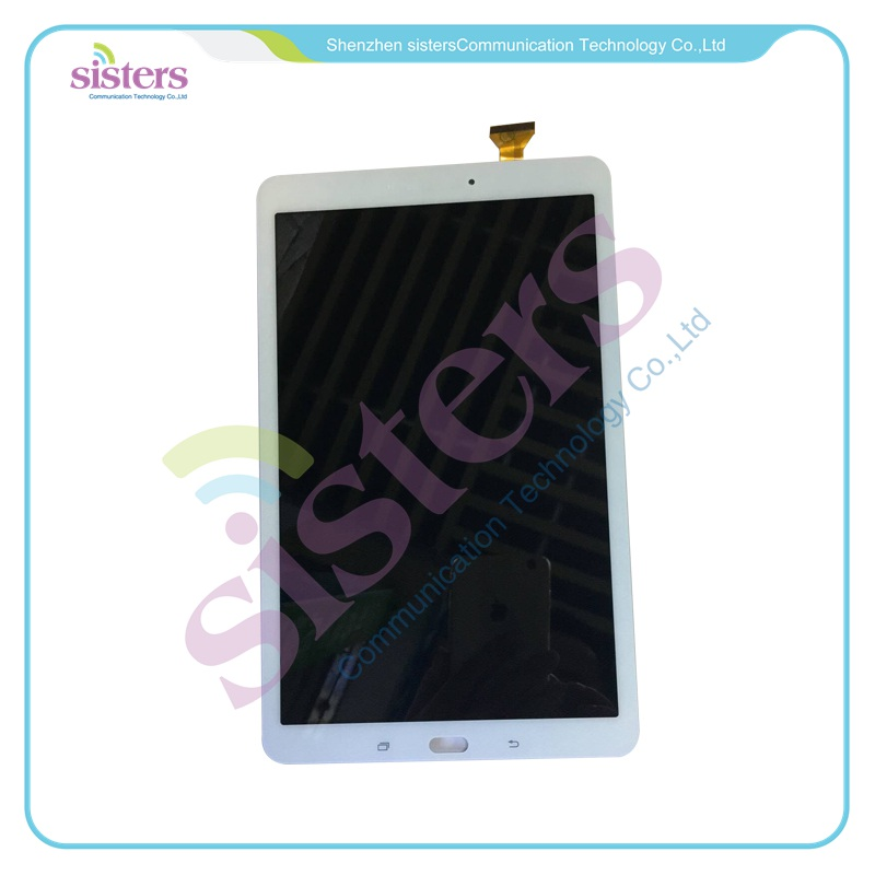 For Samsung Galaxy Tab E 9.6 SM-T560 T560 T561 LCD Display Panel With Touch Screen Digitizer Assembly Original Replacement Parts for samsung galaxy e7 e7000 e700f tested brand new lcd display touch screen digitizer assembly replacement parts