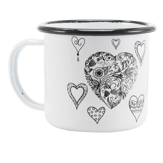 350 ML Enamel Coffee Mug 1