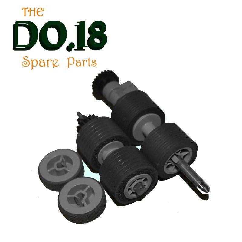 high quality PA03575-K011 PA03575-K013 PA03575-K012 pick roller brake roller for fujitsu fi-6800 fi-6400 pa03656 e958 pa03656 e976 for fujitsu ix500 pick roller and brake roller assy