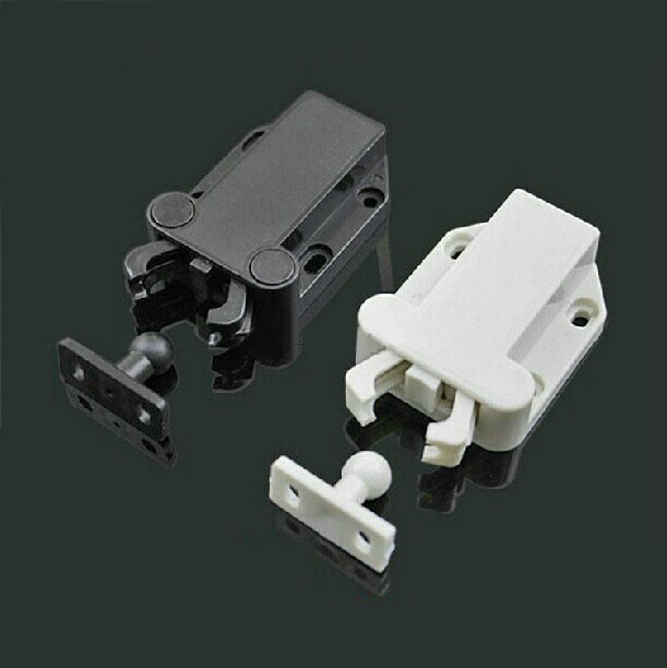 Door Touch Latch,cabinets Door Interlock Switch,Mechanical Door  Locker,chassis Or Cabinet Rebound Locker,push To Open Close In Cabinet  Catches From Home ...