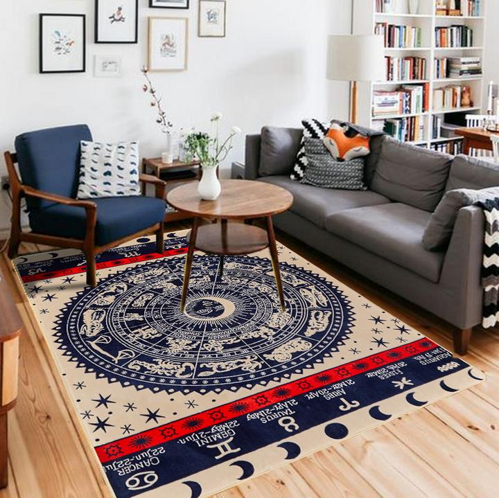 160X220CM Big Carpet For Living Room American Personality Patterns Bedroom Rugs And Carpets Coffee Table Area