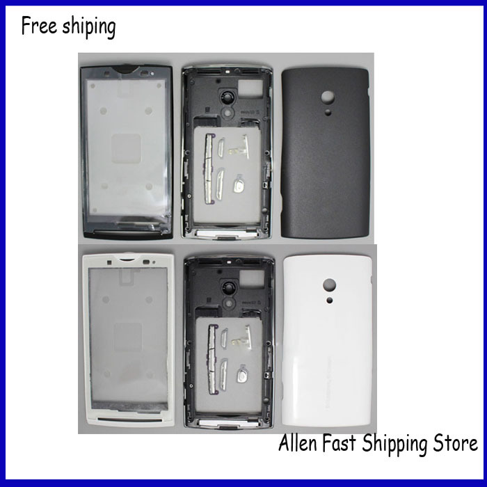 Original Phone Parts For Sony Ericsson Xperia X10 X10i Housing Cover Battery Case Keypad Buttons Logo