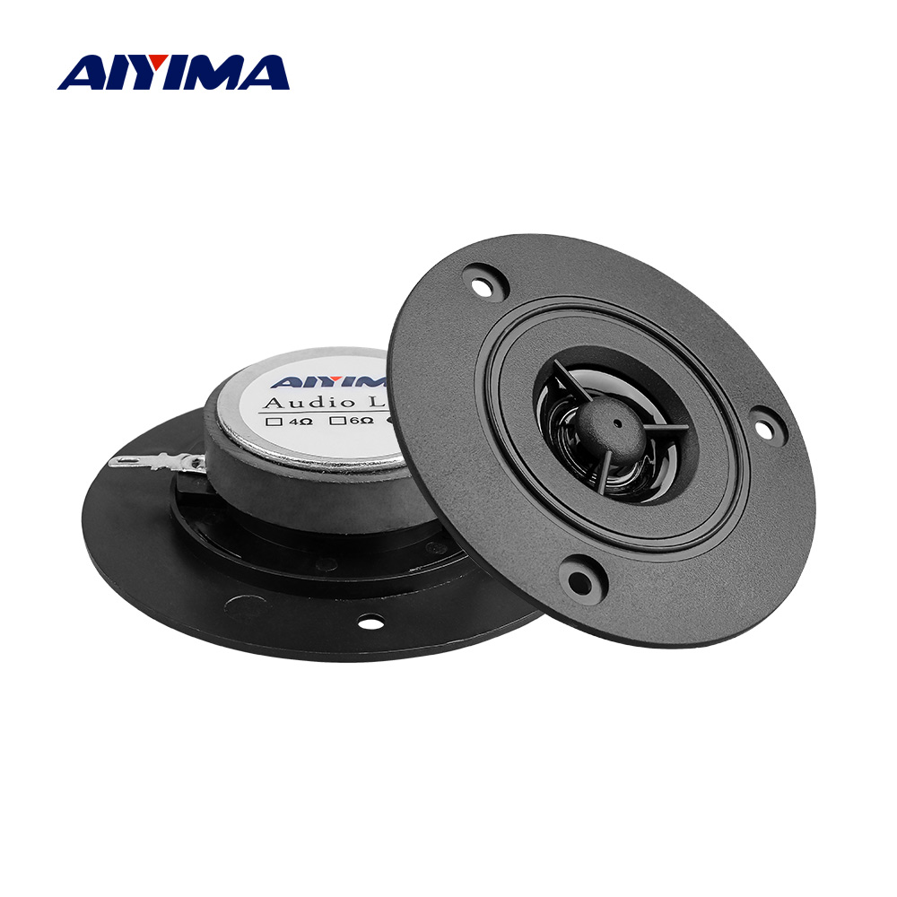 AIYIMA Audio Portable Speakers Tweeter Diy-Accessories Stereo-Sound-Box 3inch 1 For 2pcs