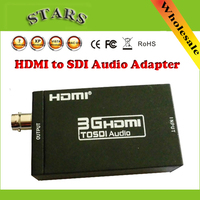 New Mini 3G 1080P HDMI to SDI SD SDI HD SDI 3G SDI HD Video Converter Adapter BNC 2.970 Gbit/s adapter Connecter,free Shipping