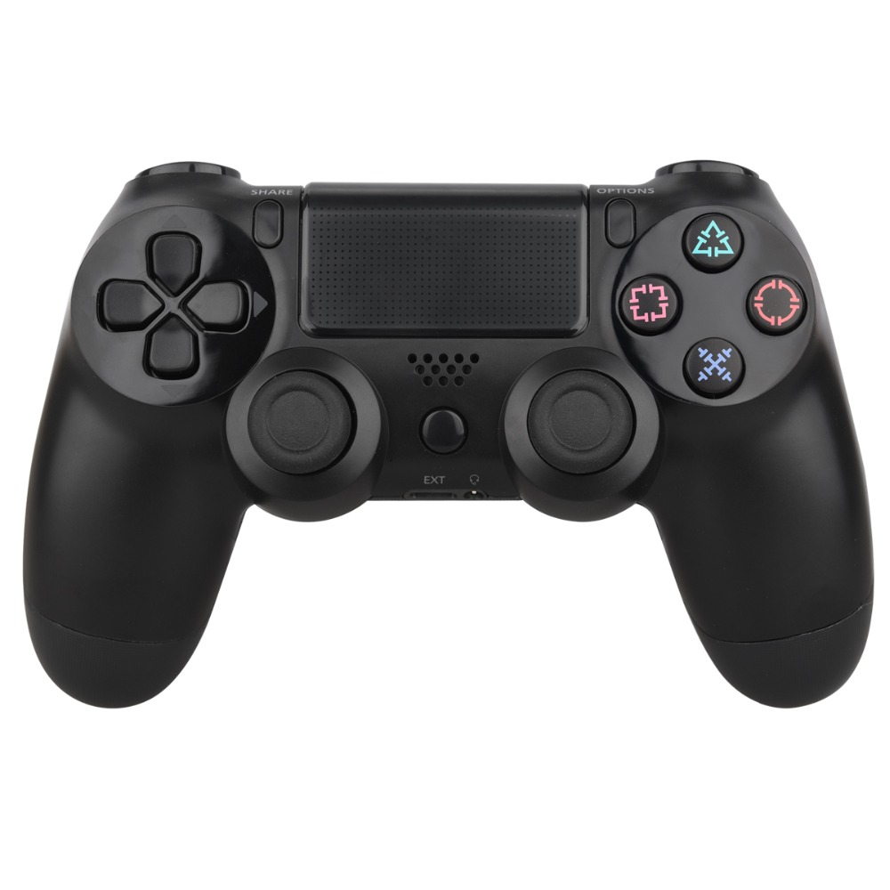 For Sony PlayStation 4 PS4 Controller Bluetooth Wireless Controller Gamepad Joystick For Dual shock 4 Game Joypad 1pcs black wireless game gaming bluetooth chatpad message keyboard for sony for playstation 4 for ps4 controller with usb cable