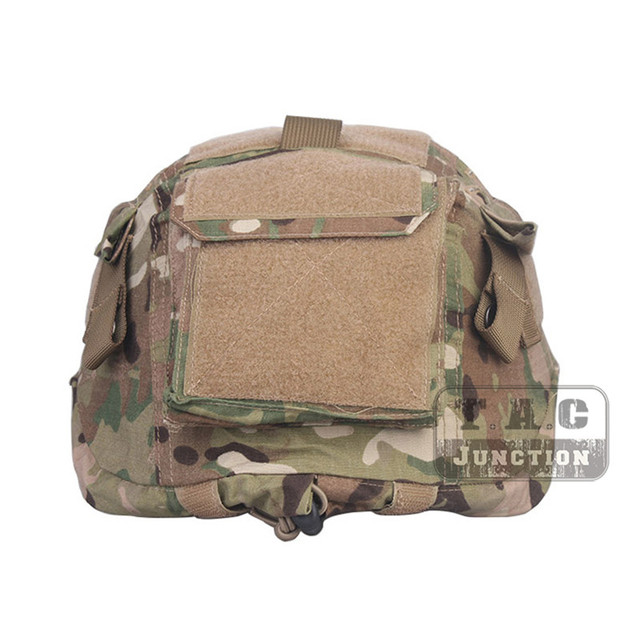 Emerson Tactical Military Style Combat ACH MICH Helmet Cover for ACH MICH TC-2001 Protective Combat Helmet Series w/ Hook & Loop