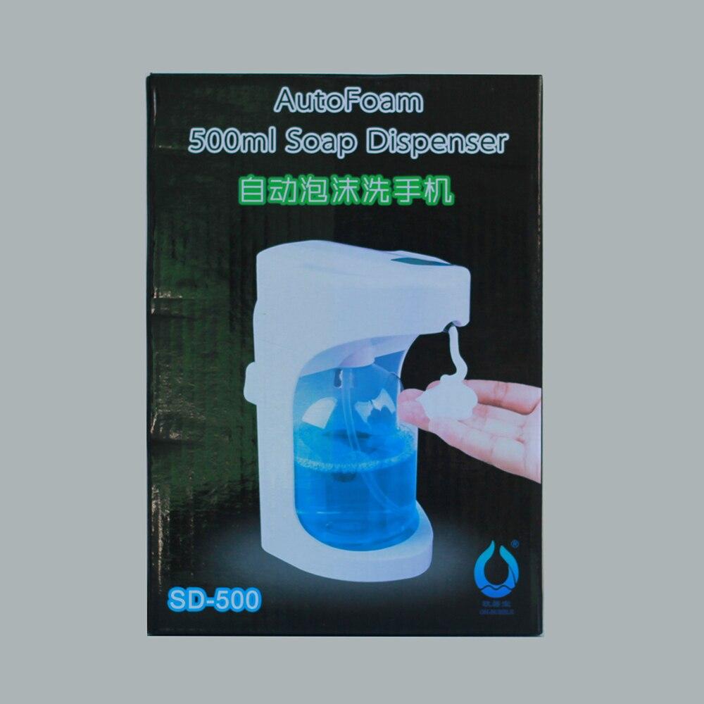 500ml Automatic Soap Dispenser Touchless Sanitizer Dispenser Built ...