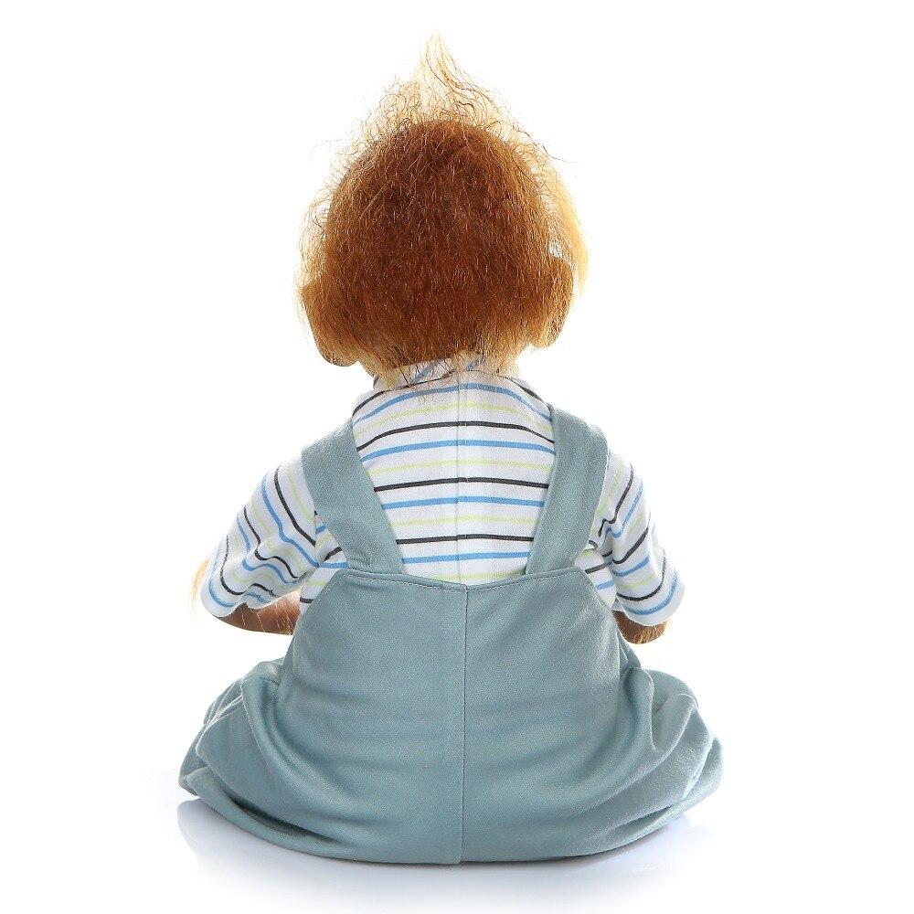 52 cm nouveau singe créatif Silicone bébé poupée 100% Non toxique Reborn bébés réaliste lol poupée pour enfants anniversaire noël bebe cadeau jouet - 5