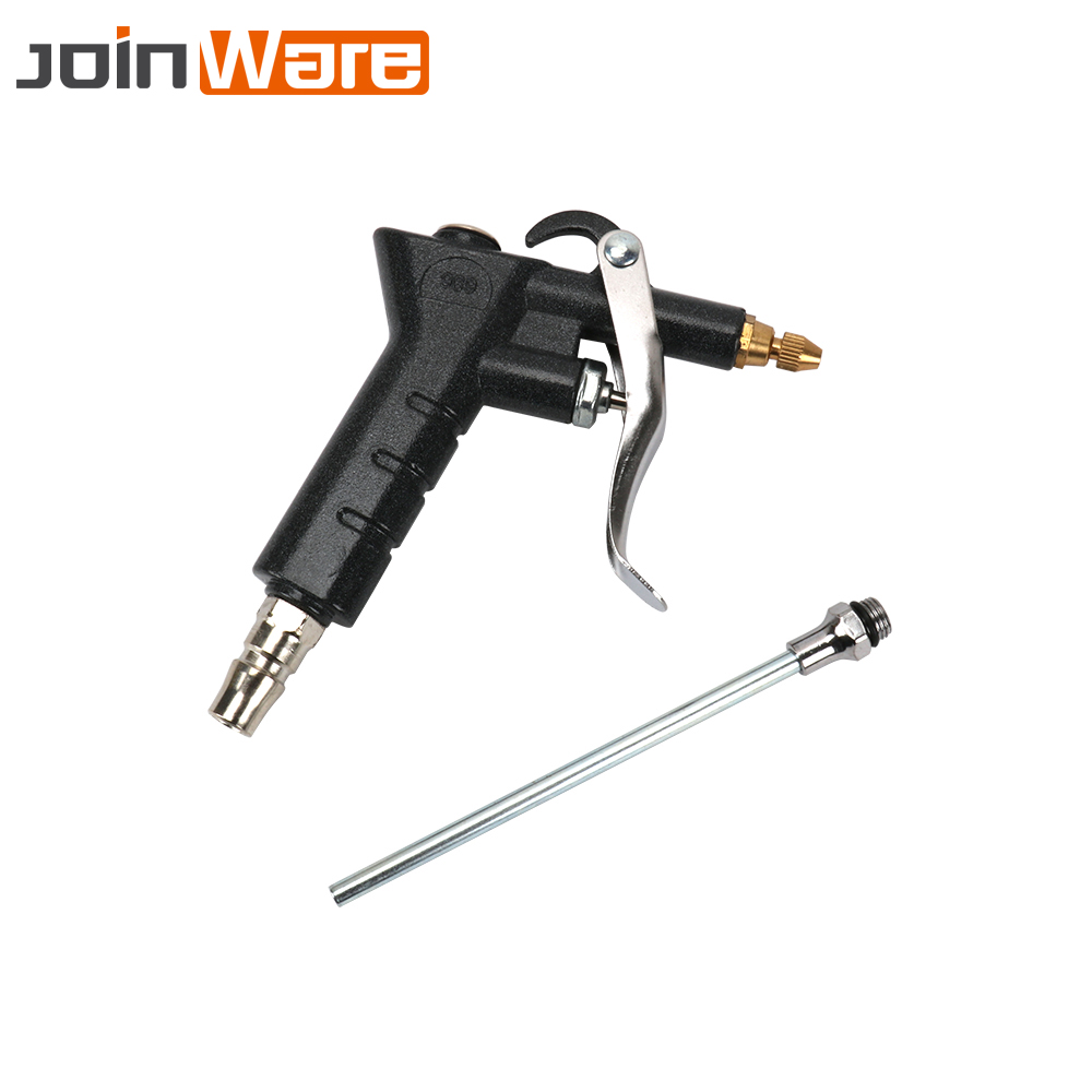 цена на Air Tool Compressor Nozzle Inflation Needle Spray Blower Blow Gun Pneumatic Cleaning Accessory Kit For Blowing Dust High Quality