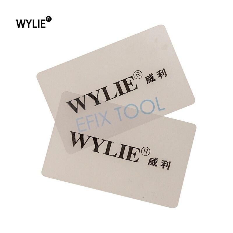 10 pz 50 pz 100 pz Handy Carta di Plastica Della Leva di Apertura Smontano Gli Attrezzi Per iPad Tablet Cellulare Repair Tool spedizione Gratuita
