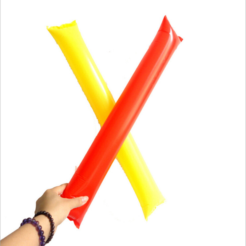 Inflatable Balloon Stick Clapper Cheer leading Cheering Cheer Party Noise Maker