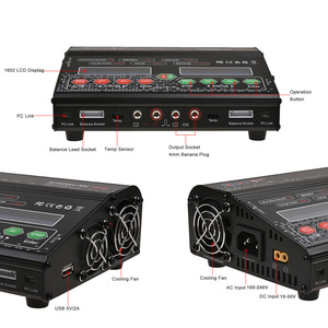 Image 5 - HTRC cargador de equilibrio de alta potencia H150 DUO AC/DC 300W 12Ax2, descargador para Lilon/LiPo/LiFe/LiHV/Nimh/Nicd