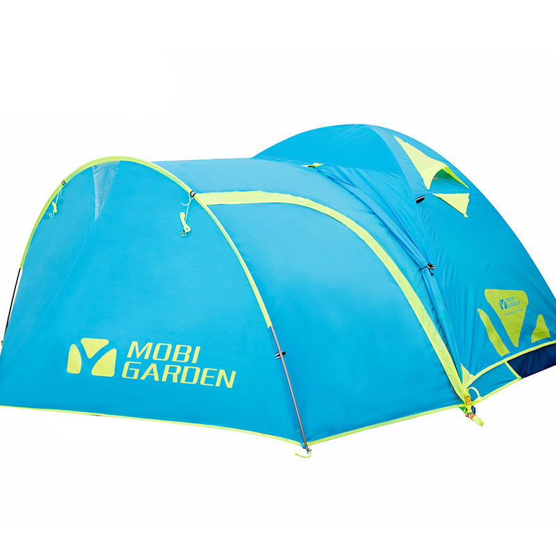 Ultralight Portable Outdoor Tents Barracas De Camping For Hiking Outing Trip Picnic Tenda Waterproof Anti-uv Folding Tente Blue outdoor camping hiking picnic bags portable folding large picnic bag food storage basket handbags lunch box keep warm and cold