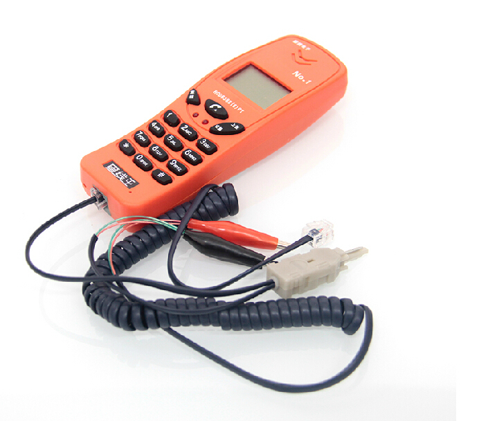 New phone wire check portable test phone Check wire feeder with special multimedia telecommunication engineering Free