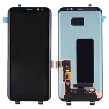 Original AMOLED LCD for SAMSUNG Galaxy S8 Plus Display Touch Screen Digitizer with Frame Replacement LCD G955F Display стоимость