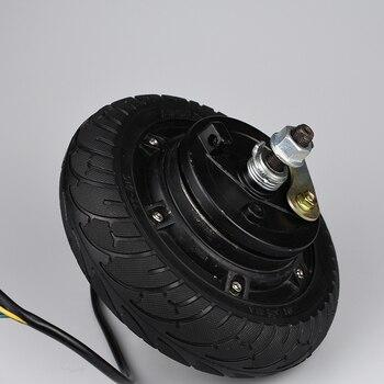 Electric Scooter Conversion Kit 24V 36V 48V 350W 8Inch wheel Brushless Toothless Hub Motor E Bike Scooter Engine Wheel Motor