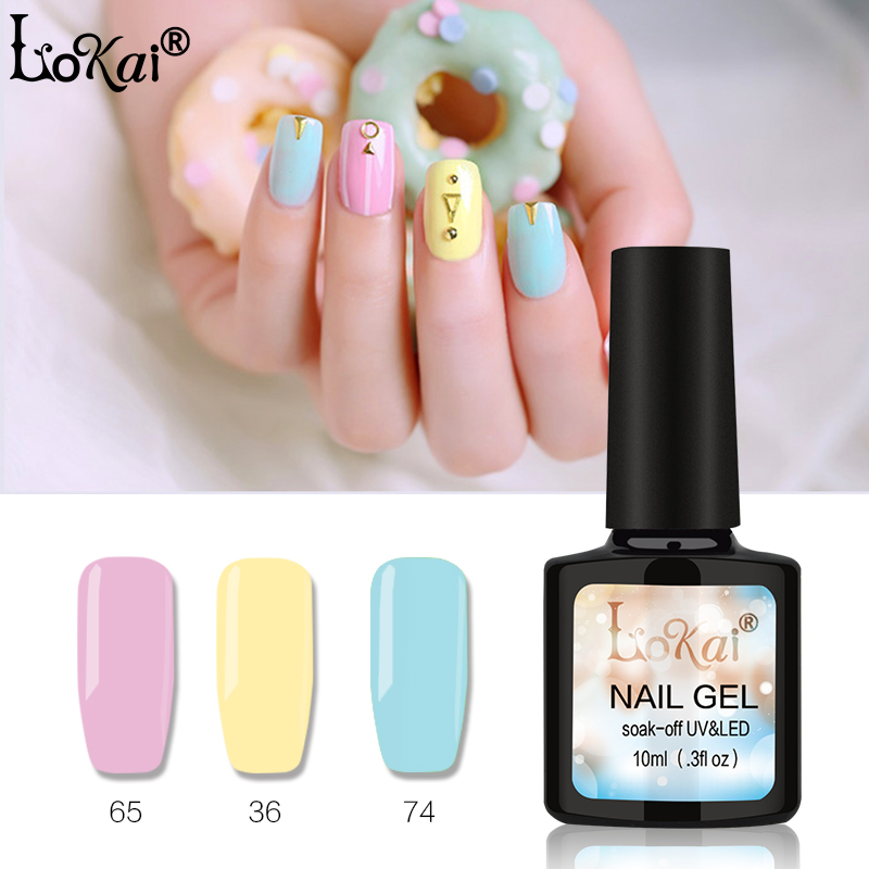 lokai gel uv vernis semi permanent 10ml uv nail gel polish soak off long lasting led nail polish. Black Bedroom Furniture Sets. Home Design Ideas