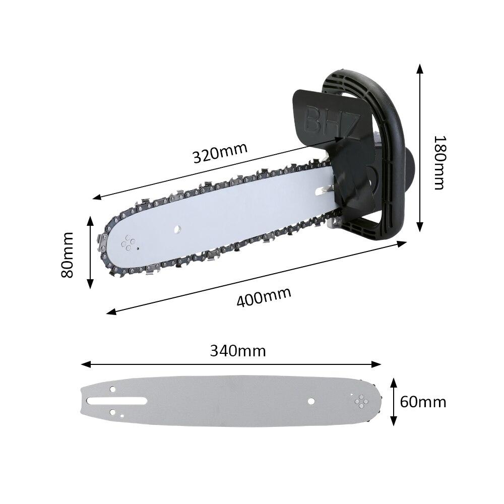 """Image 2 - Multifonction bricolage scie à chaîne électrique convertisseur support outil de travail du bois pour 100mm 4 """"meuleuse dangle tronçonneuse scie électriqueÉlectrique Scies   -"""