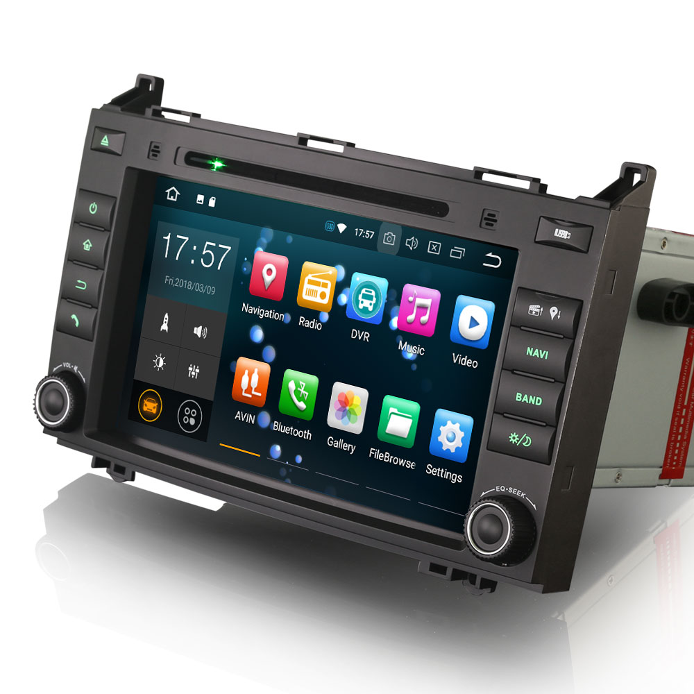 8 Octa-Core Android 8.0 Oreo OS Car DVD Multimedia Navigation GPS Radio for Volkswagen Crafter 2006+ with Split Screen Support