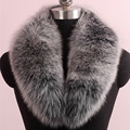 2016 Genuine Fox Fur Collar Fox Fur Muffler Scarf Women Real Fox Fur Accessories Wholesale Price 17 Colors L#57