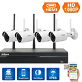 DaHua Видеонаблюдения Система 1080 P Wi-Fi Комплект КОМПЛЕКТ/NVR4104HS-W-S2/IPC-HFW1320S-W