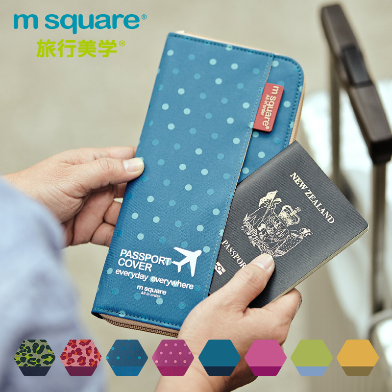 Wallets-Cover Card-Case Documents-Bags Coin-Purse Clutch Id-Holders Travel Passport Luxury