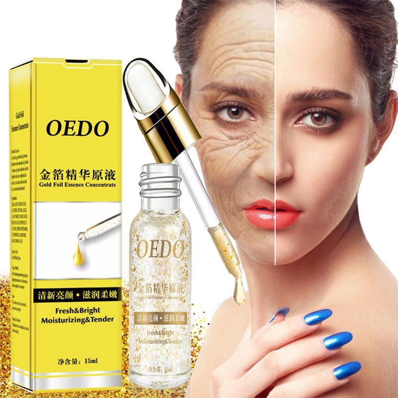 OEDO Gold Foil Hyaluronic Acid Serum Face Cream Anti Aging