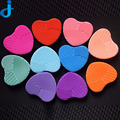 Coração Forma de Pincel de Maquiagem Ferramentas de Maquiagem Lavagem Limpeza Escova Escovas Coloridas Pinceis de maquiagem Comestic