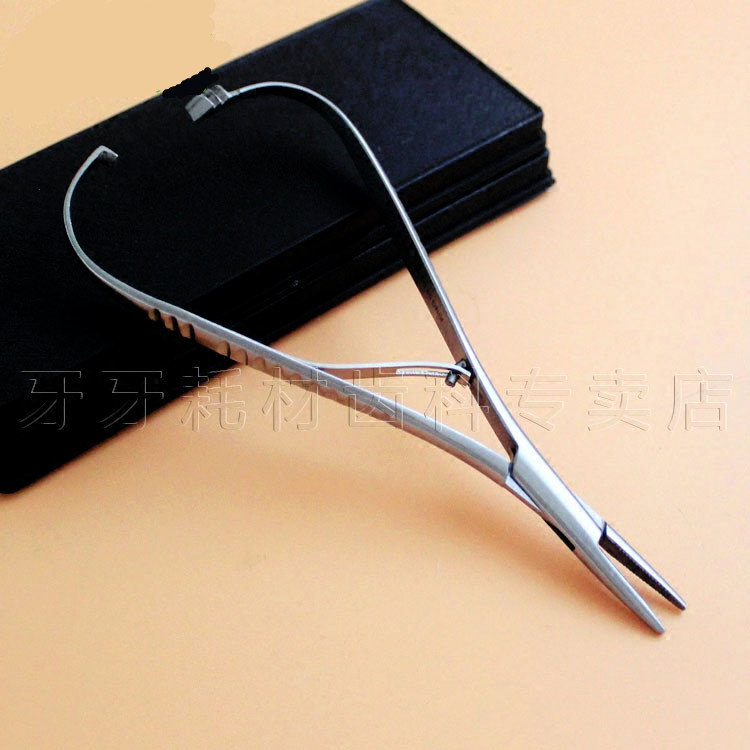 High Quality 2016 New Arrival 1 pc Dental Needle Holder Pliers Dentist Surgical Device Instrument Equipment Asin good quality 1 pc dental end bending pliers for ni ti wires dentist orthodontic surgical instrument equipment device