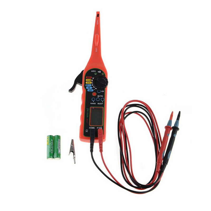 ФОТО Vehicle Multimeterr Auto Circuit Tester Pen 4 in 1  Electrical Multimeter 0-380V For Automotive Car Diagnostic-Tool