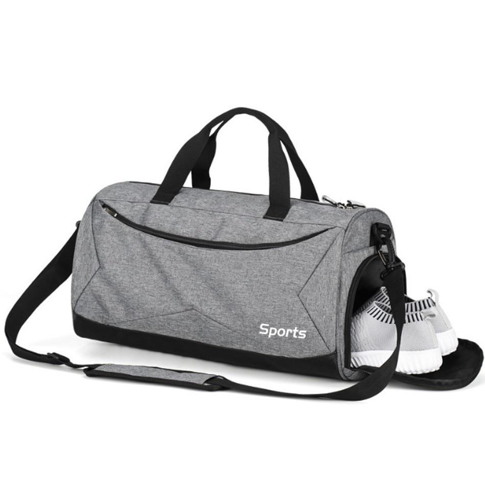 REXCHI Sport Gym Bag Fitness Men Women Backpack Large Capacity Yoga Training Handbag Outdoor Basketball Soccer Travel Sac De