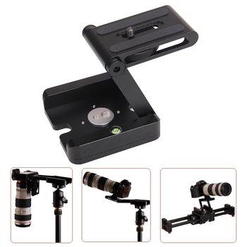 Profesyonel Kamera Tilt Alüminyum Katlanır Z Tripod BRAKETI Kafası Çözüm Fotoğraf Stüdyosu