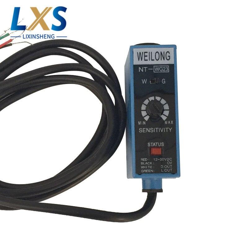 Sac de NT-RG23 de capteur de marque de couleur de machines d'impression de WEILONG faisant la Machine capteur de commutateur photoélectrique