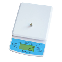 1Pcs 3kg/0.1g Mini Digital Scale 3 Style High Precision Mini Pocket Scale Ultra-thin Weighing Jewelry Scales for Kitchen Baking