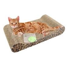 2016 Popular catch Comfortable Pet Cat Comfort Scratch Scratcher Scratching Board Pad Mat Catnip Bed Kitten Climbing Toys