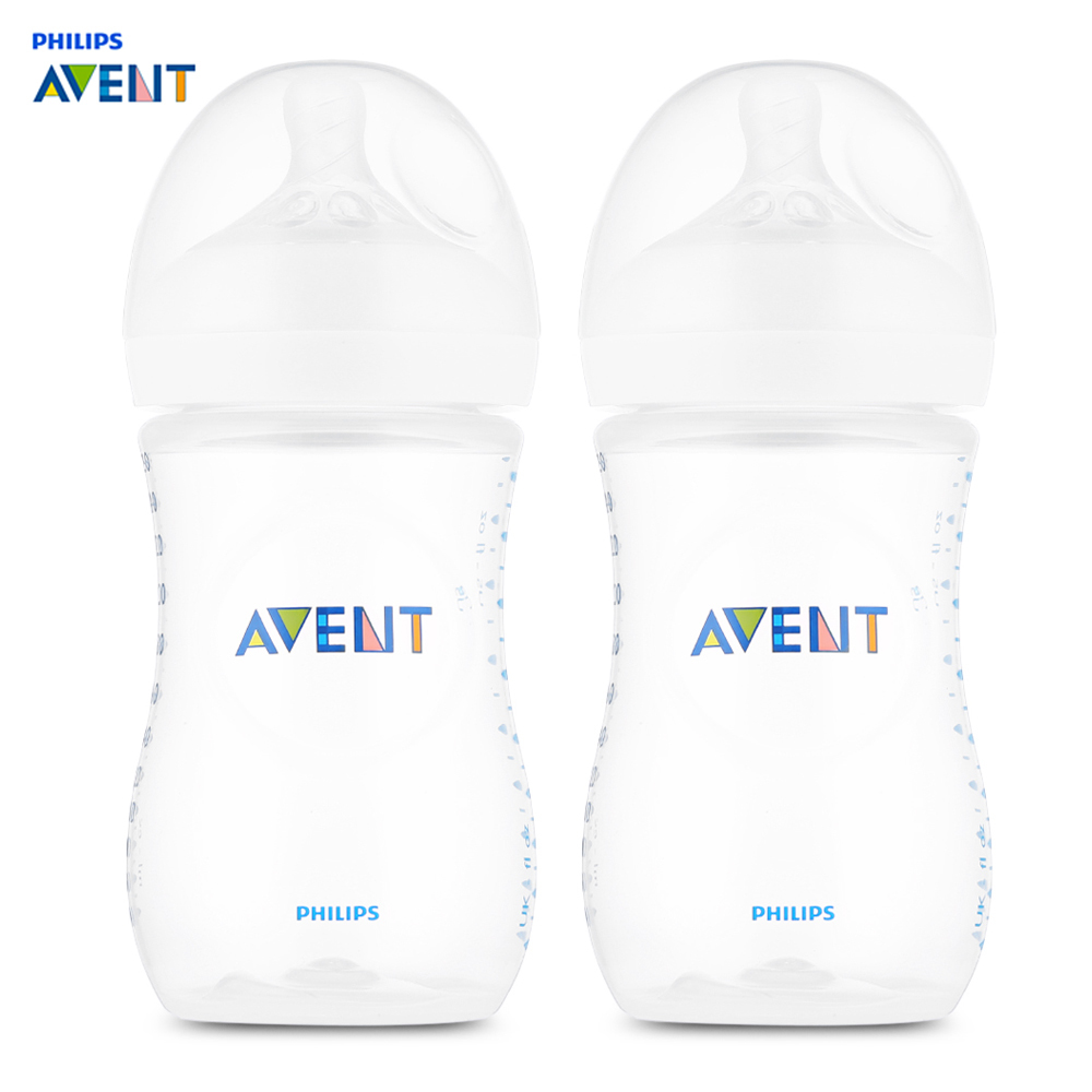 Philips Avent 2pcs 9oz/260ml Baby Bottle Feeding Infant