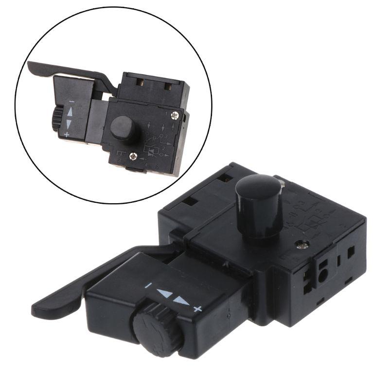 Perceuse électrique   Verrou sur outil électrique, perceuse électrique, commande de vitesse, bouton de déclenchement, interrupteur A0417