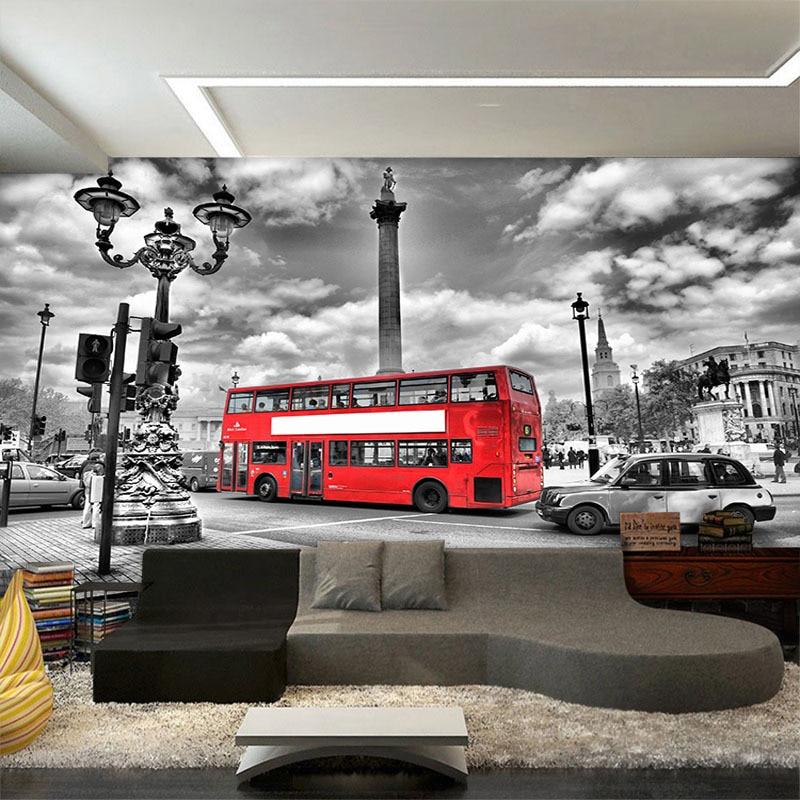 Popular entertainer bus buy cheap entertainer bus lots for Mural wallpaper vintage
