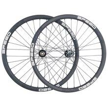 29er MTB XC carbon wheels 30mm hookless 30mm deep tubeless wheelset Novatec D791SB D792SB 15X100 12X142 SHN 10s 11s XX1 XD 12s
