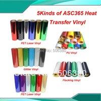 FREE SHIPPING 5 Yards Heat Press T Shirt Heat Transfer Vinyl By Cutter Plotter Print