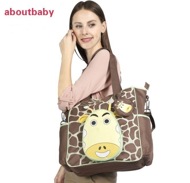 Multifonctionnel maternité momie Nappy sacs bébé couche sac à main fourre-tout poussette organisateur sac de rangement bolsas de bebe maternidade