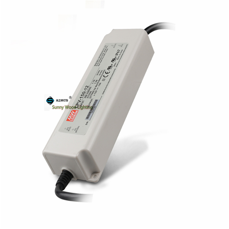 100-240Vac to 12VDC ,120W ,12V10A  IP67 UL power supply ,outdoor Led light,led signboard waterproof driver ,LPV-150-12 90w led driver dc40v 2 7a high power led driver for flood light street light ip65 constant current drive power supply