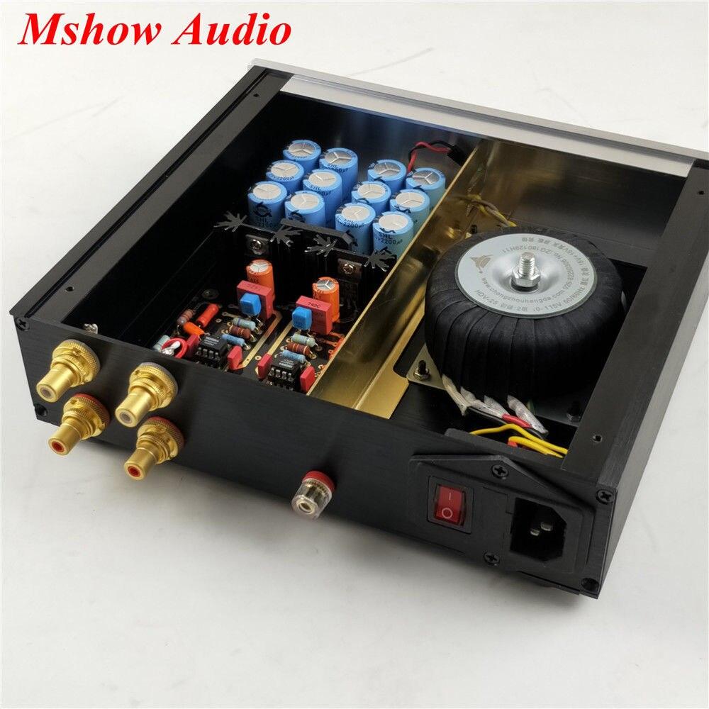Finies HIFI double Circuit Phono platines MM Phono amplificateur Audio avec opa2277 haute qualité - 6