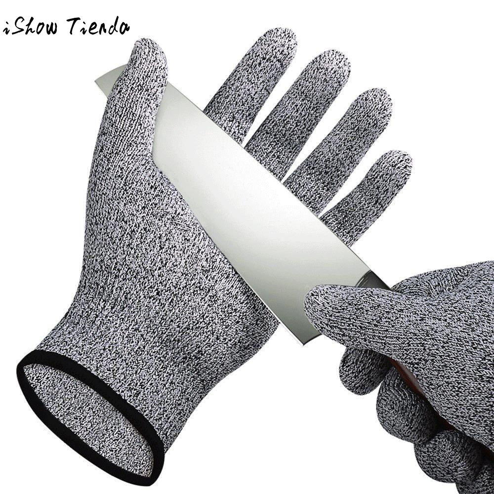 1 Pair Safety Cut Resistant Gloves High Performance Food