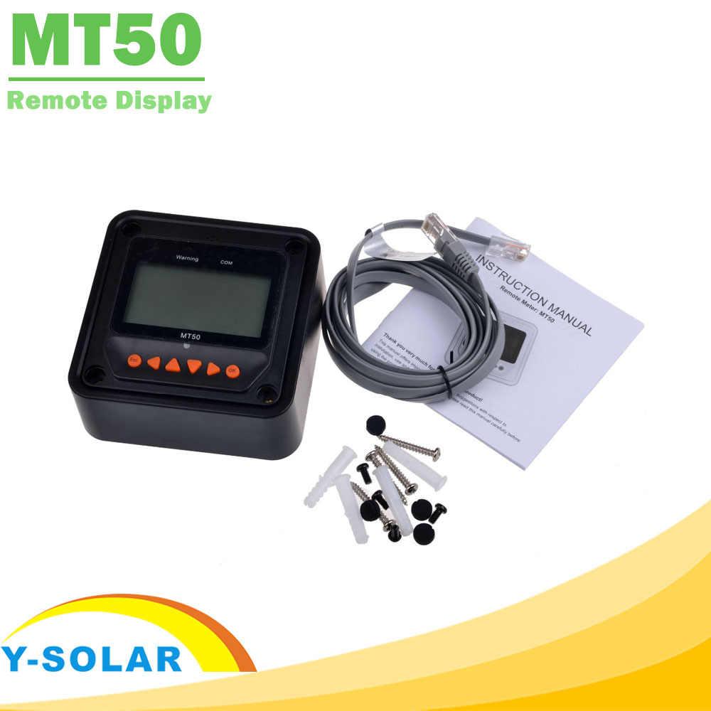 EPever MT50 zdalny wyświetlacz dla tracer-an tracer-bn TRIRON XTRA Series solarny Regulator mppt i VS-BN PWM Regulator EPSOLAR