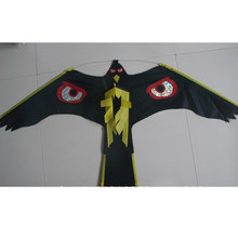 Bird Repeller -Black Flying Hawk Kite For Garden Scarecrow Garden Decoration,Kite Only(China)
