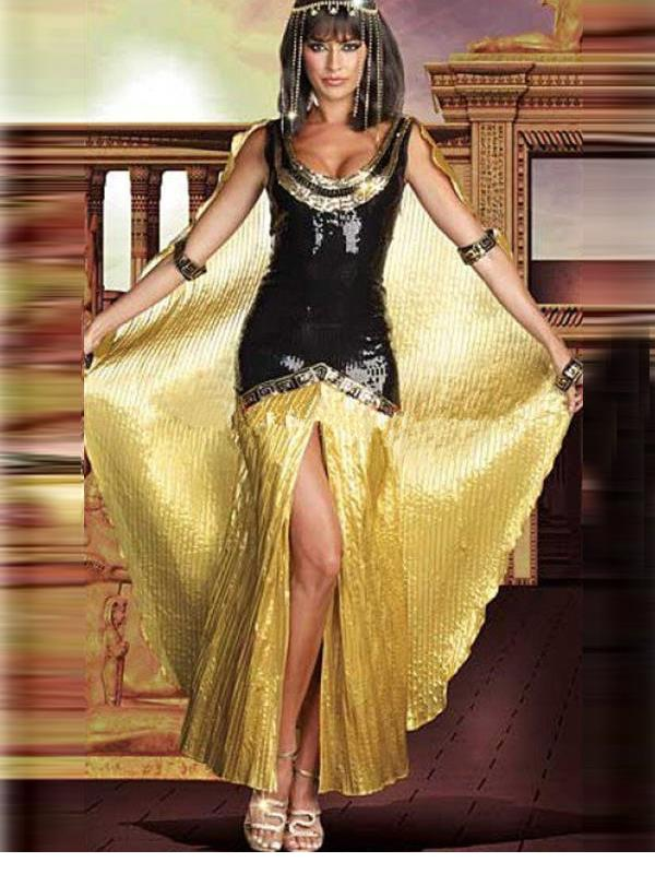 Sexy Egypt Queen Cosplay Female Pirate Costume Adult Cleopatra Fancy Medieval Dress Ladies Halloween Carnaval Costumes