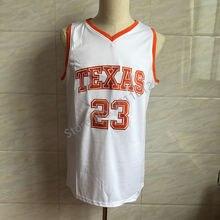 9515519b6 RUBU Vintage 23 Khris Middleton Texas College Basketball Jersey Embroidery  Stitched
