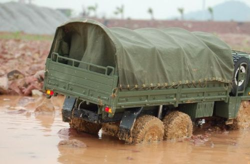 US $78 0 |1/12 SCALE RC 6x6 Crawler Military Vehicles Tractor Trucks 470mm  x310mm tarpaulin/Carport Peng FOR RC88WD Capo TRACTOR TAMIYA-in Parts &