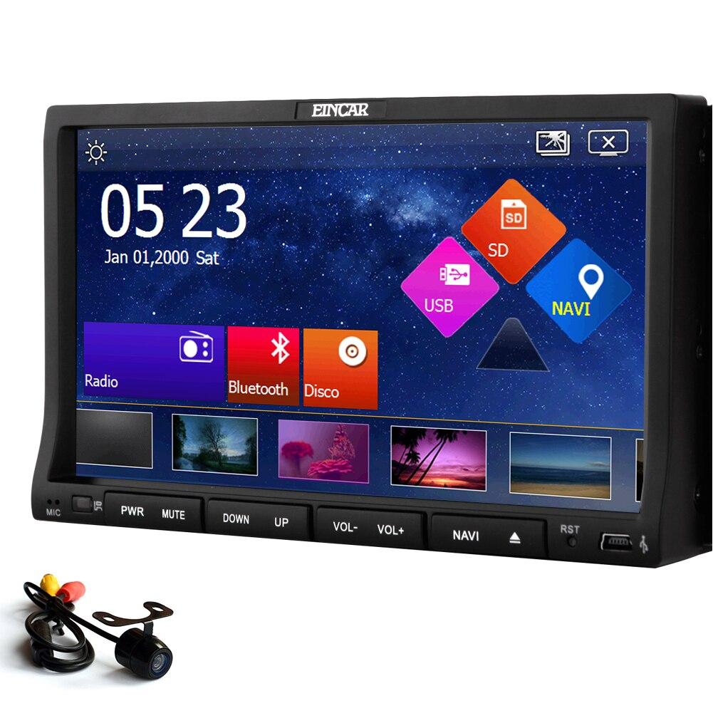 Autoradio win8 3D lecteur DVD de voiture CD vidéo Radio MP3 FM MP5 stéréo 8 GB GPS carte EQ système MP4 2 Din récepteur Audio